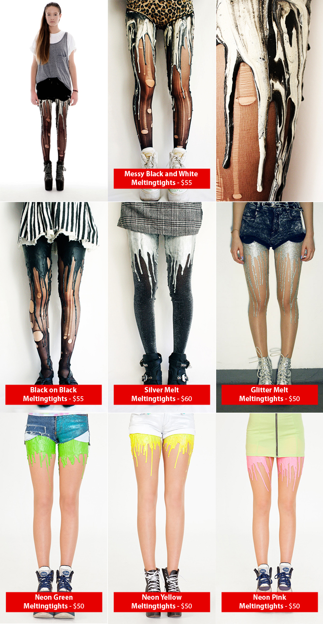 Melting Tights!